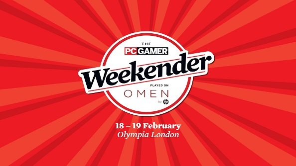 Fancy going to the PC Gamer Weekender? We've got a pair of tickets up for grabs!