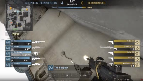 CS:GO hackers are using aimbots to draw art with bullets | PCGamesN