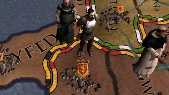 Testing Hillary Clinton's presidential skills in Crusader Kings 2