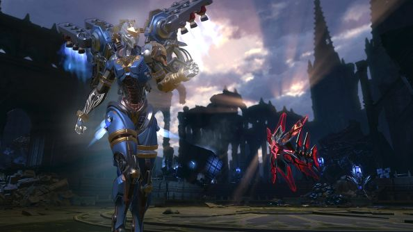 Upcoming Skyforge 'Crucible of the Gods' update is huge, adds godlike power, raids, sexy robots