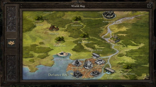 Pillars Of Eternity World Map Complete.Pillars Of Eternity Review Pcgamesn