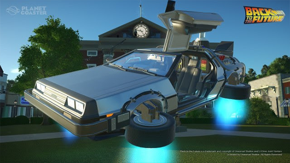 planet coaster film dlc back to the future knightrider the munsters