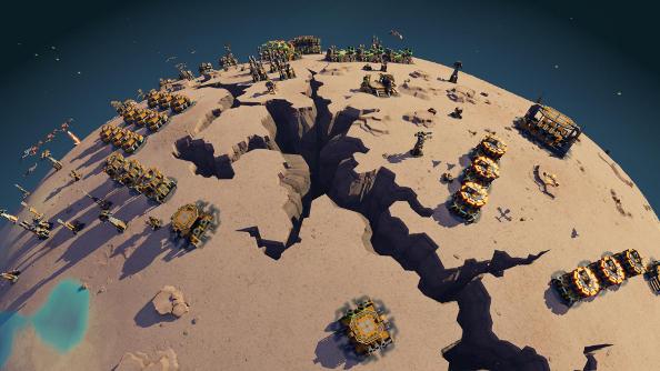 Planetary Annihilation update LAN Uber Entertainment