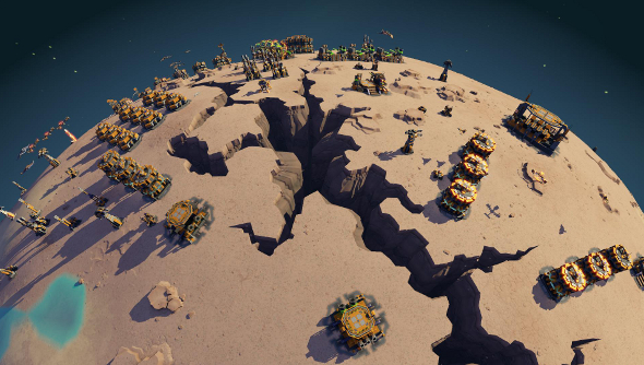 Planetary Annihilation update LAN Uber Entertainment
