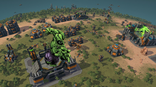 Planet Hulk: Planetary Annihilation enters Gamma phase tomorrow, adding multi-planet spawns