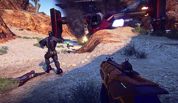 "SOE call for Planetside 2 players to test revamped ""battle flow"" mechanics today"