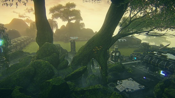 Hossin: swampland, but solid enough to land a troop carrier on.