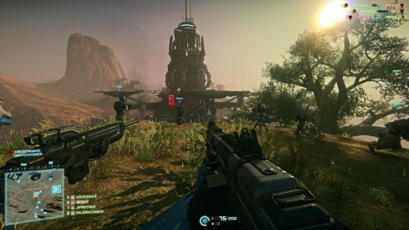Planetside 2 is one, and celebrating the fact with double XP til Sunday