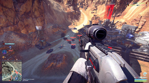 How SOE are going about fixing Planetside 2's frame-rate