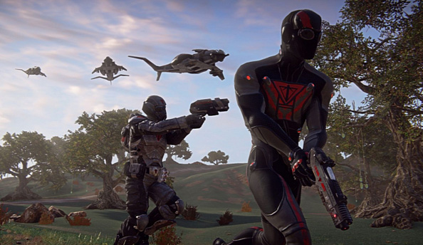 Planetside 2 is receiving a physical form to be sold in real shops
