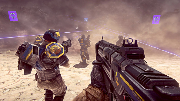 Planetside 2 grows space pumpkins in today's update