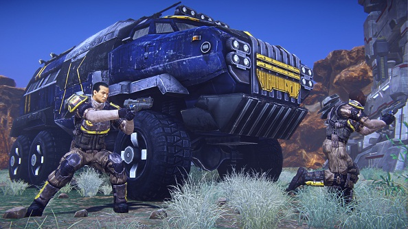 SOE offering to double your PlanetSide 2 Station Cash and Experience Points all weekend