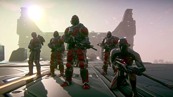 Planetside 2 has more than 250,000 daily players and 1.6 million registrants