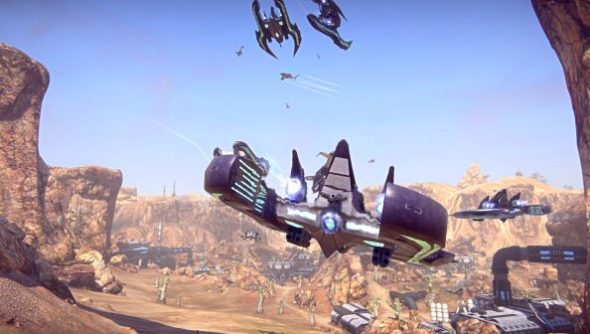 planetside_2_alpha_squad_air_battle