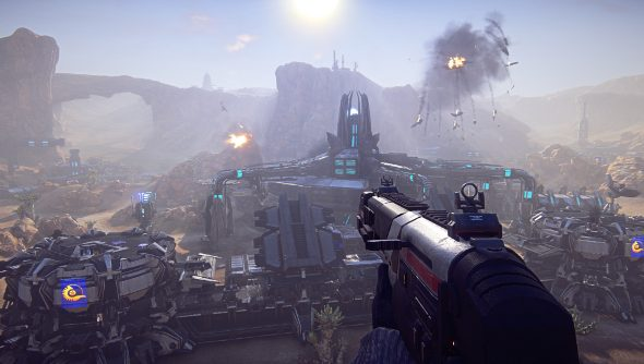 PlanetSide 2 hit detection