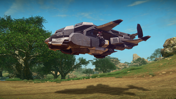 PlanetSide 2: the Valkyrie