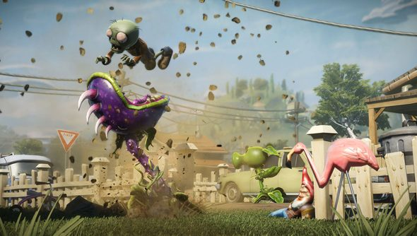 Plants vs Zombies: Garden Warfare: tower defence turned twitchy.