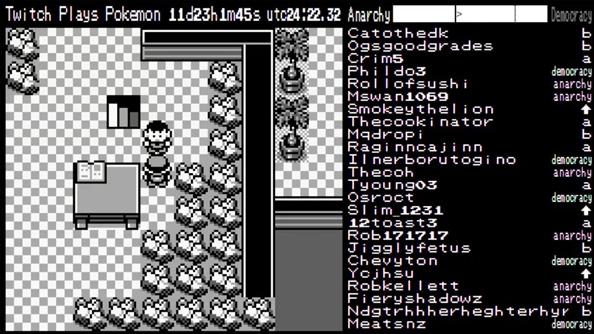 Twitch Plays Pokémon