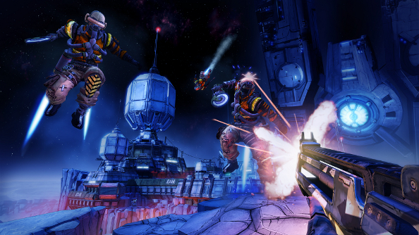 Strap on your moon boots for Borderlands: The Pre-Sequel's butt-stomping E3 walkthrough