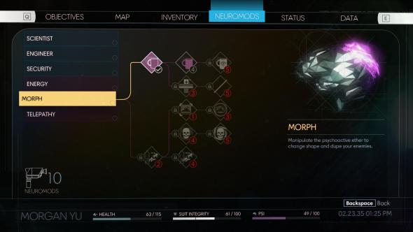 Prey abilities morph