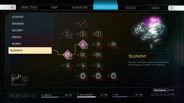 Prey abilities telepathy