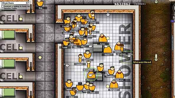 Prison Architect alpha 5 adds fire trucks and lets you say no to the convicts