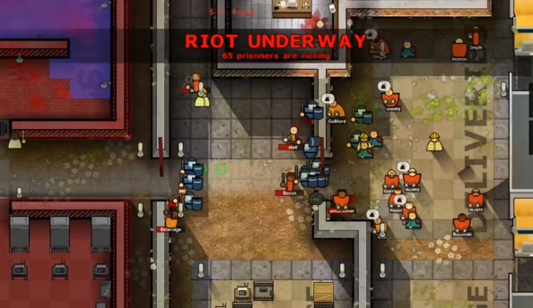 Prison Architect introduces riots, Steam Workshop, and Linux support with Alpha 10