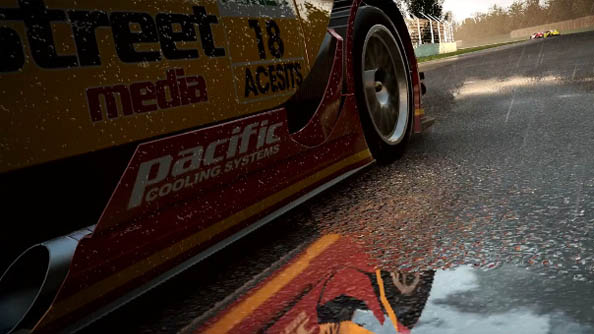 Project CARS multiplayer trailer shows multiple cars looking very, very pretty
