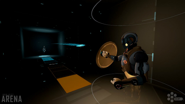 The Frisbee game from Tron is being made for VR