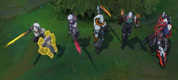 Riot reveals new project skins for master yi and others in league of