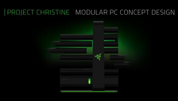 Razer struggling to find OEMs for Project Christine