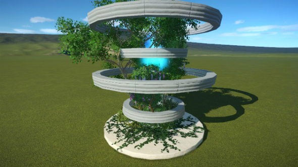 crystal shrine planet coaster creations