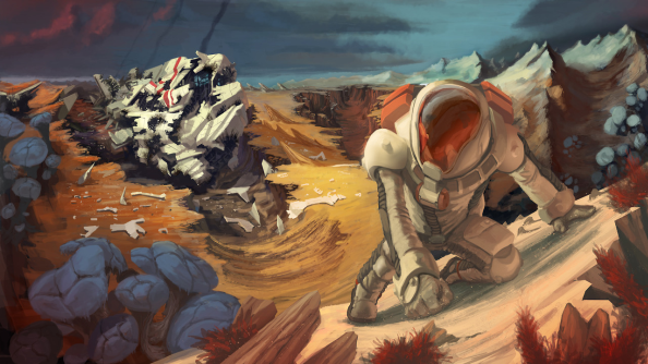 Proven Lands sets its sandbox world in the golden age of sci fi