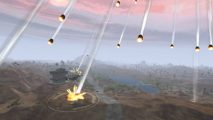 Planetside 1 meteors