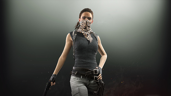 Some of the new Desperado cosmetics for female characters