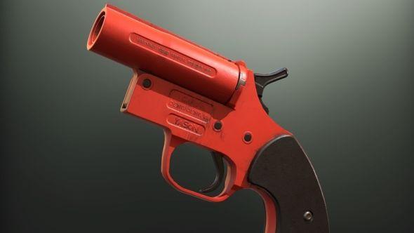 PUBG flare gun