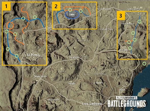 pubg map changes