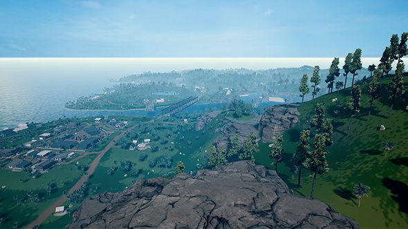 pubg new island map gameplay footage
