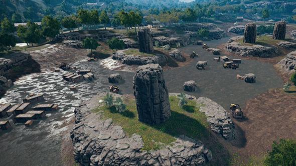 pubg savage new locations