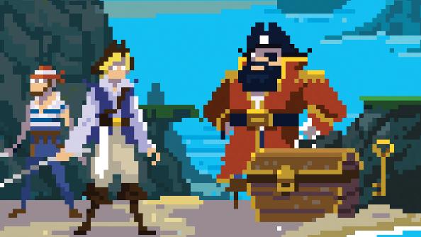 Puffin Treasure Island Pixel