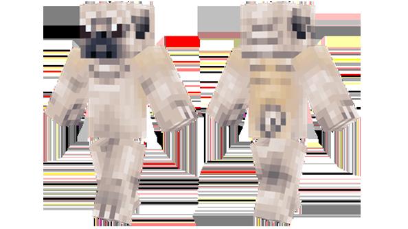 best minecraft skins pug