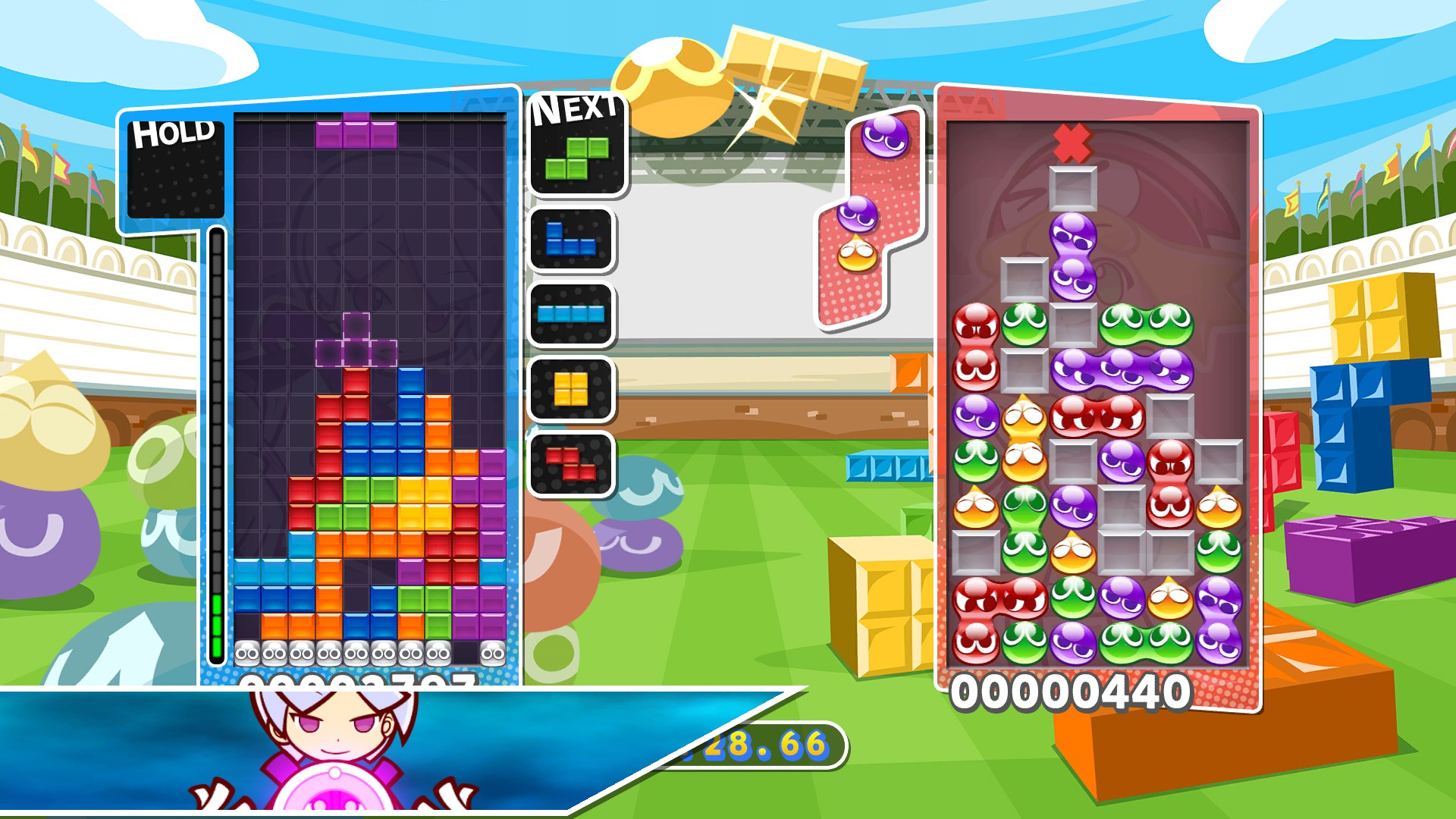 puyo puyo tetris steam