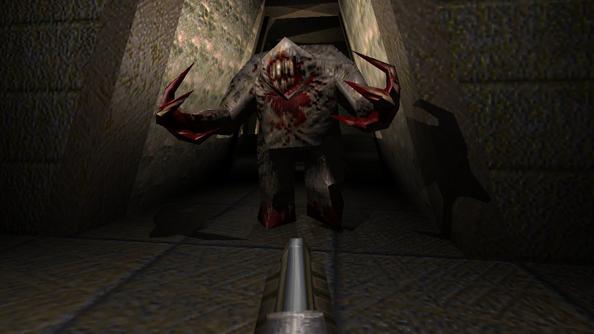 Quake 1: the last great Romero shooter.