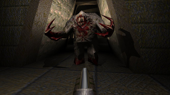 Quake 1: the last great Romero shooter.