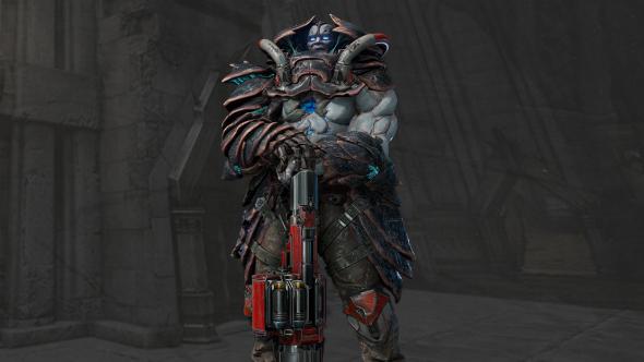 Quake Champions characters Scalebearer
