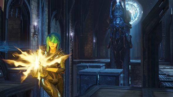Quake Champions nyx fathom agent