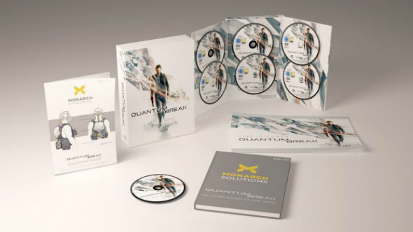 Quantum Break boxed edition