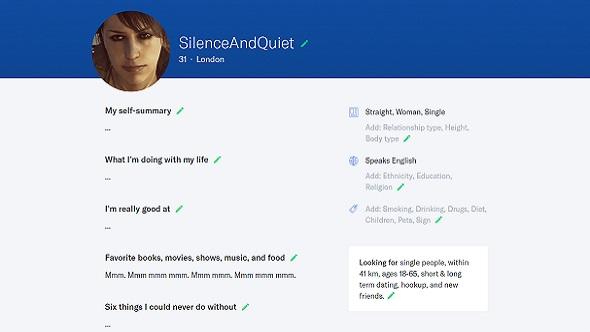 Quiet profile