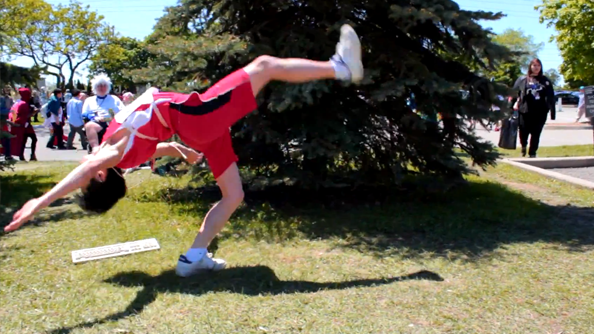 QWOP cosplay video is painfully perfect