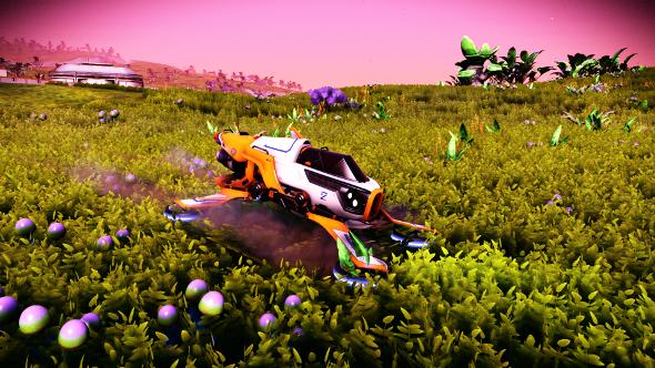 No Man's Sky racing